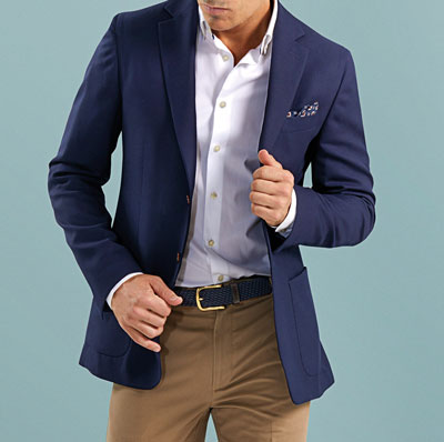 dressing business casual