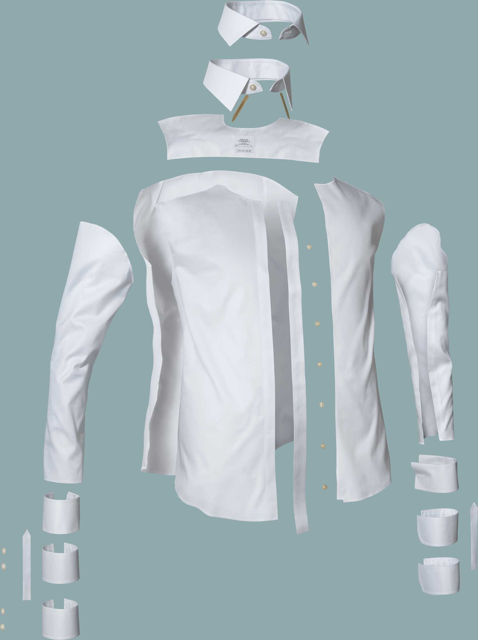 structure of a shirt