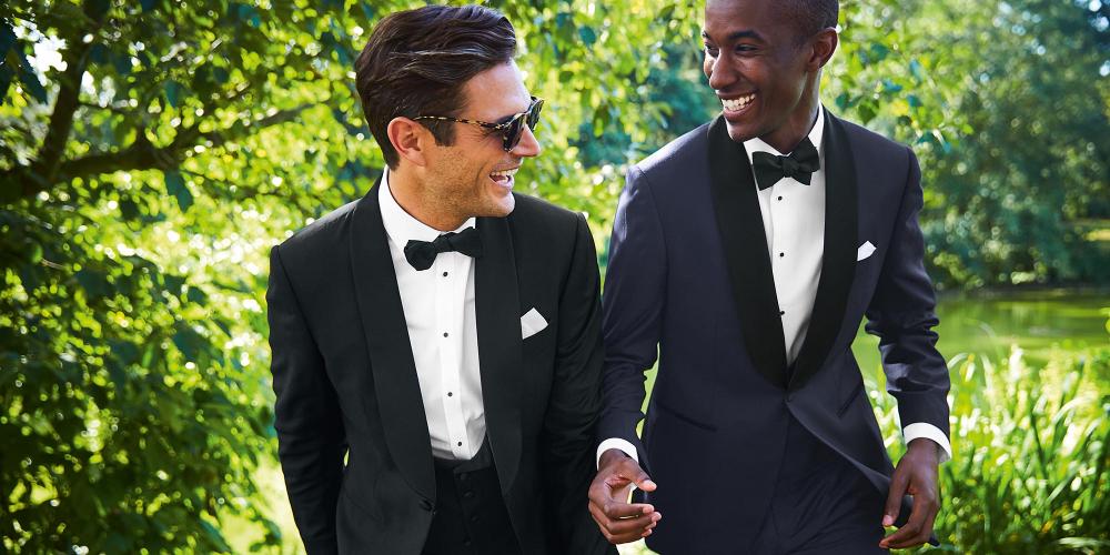 models wearing a bow tie