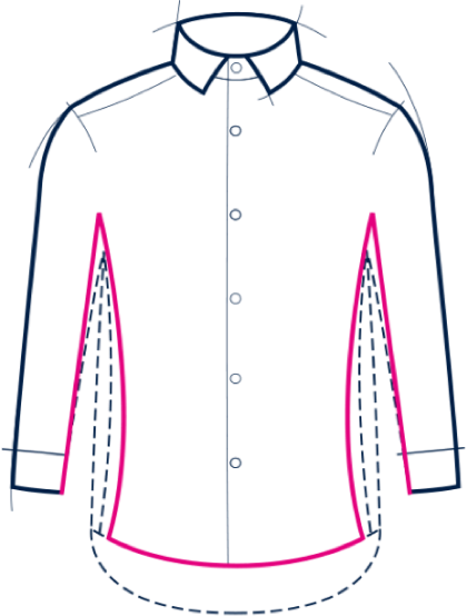extra fit shirt
