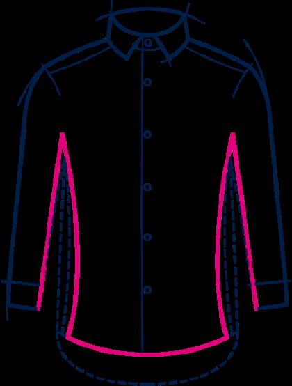 Extra slim fit chemises
