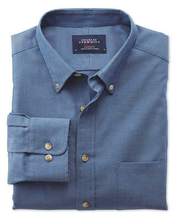 strijkvrij casual overhemd