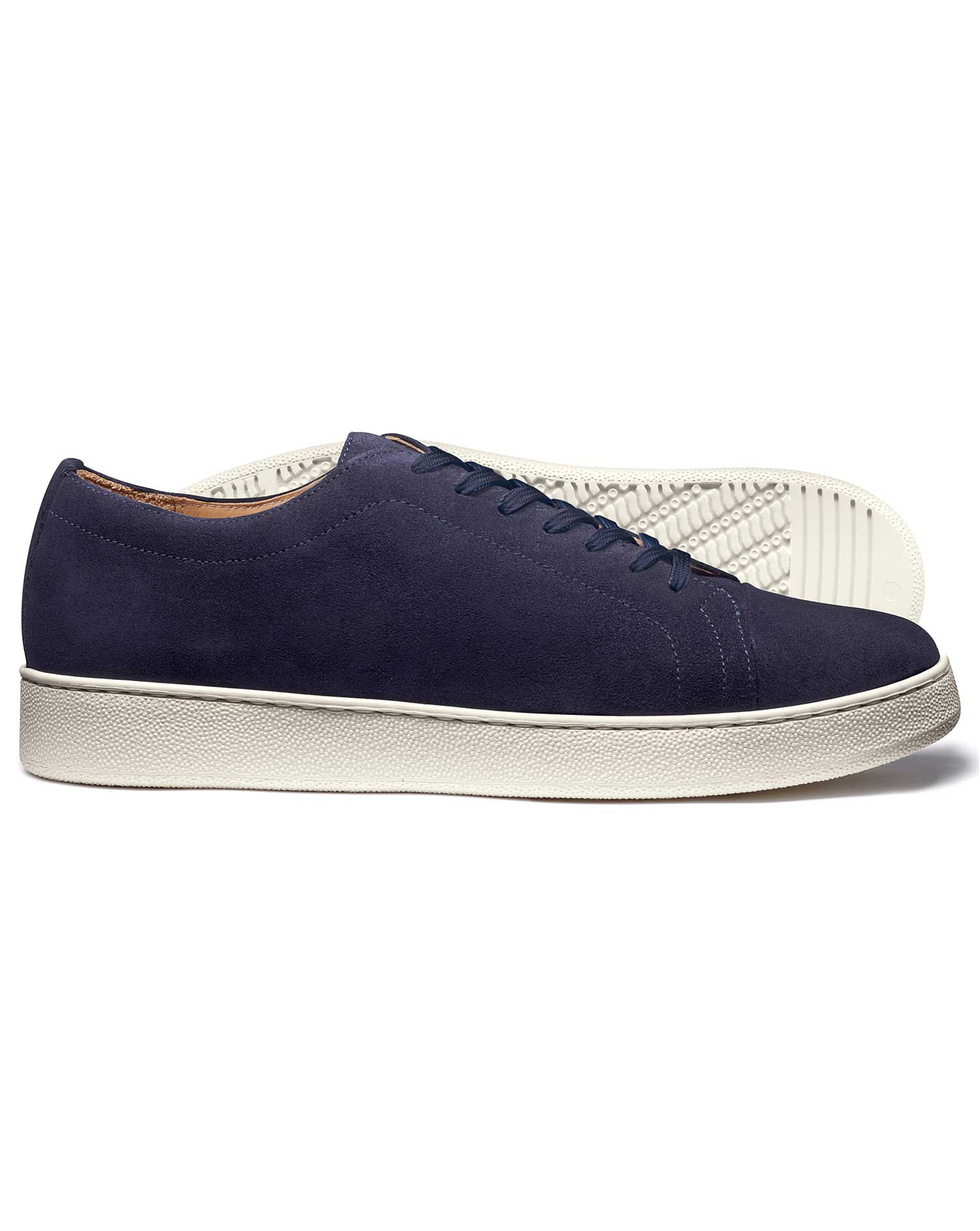 Navy Trainers Size 6 R by Charles Tyrwhitt