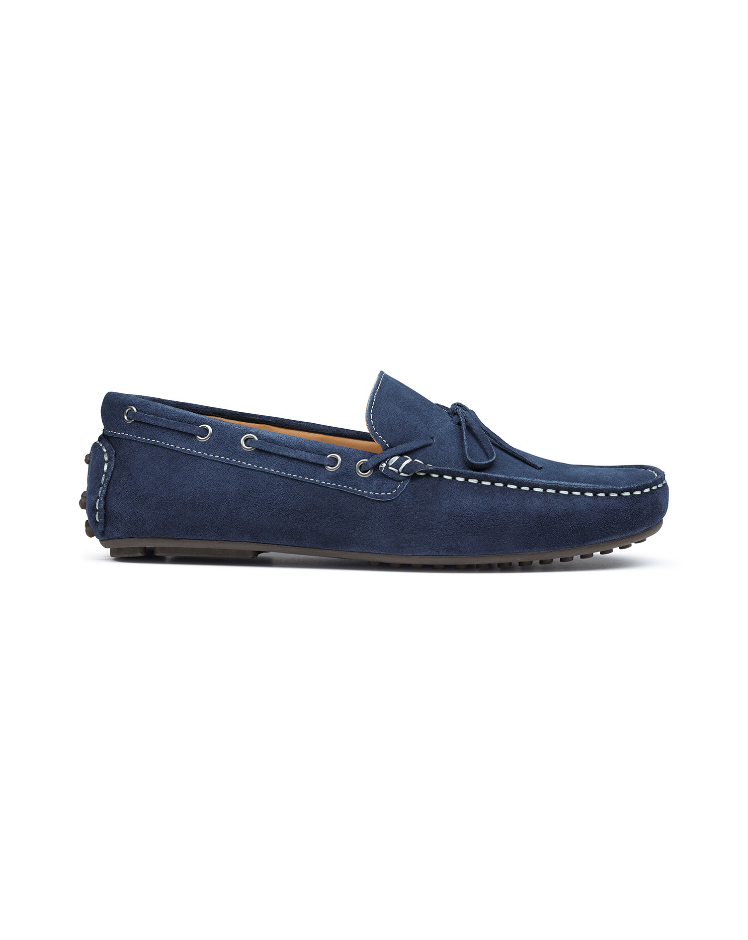 Blue Suede Driving Loafer Size 12 R by Charles Tyrwhitt
