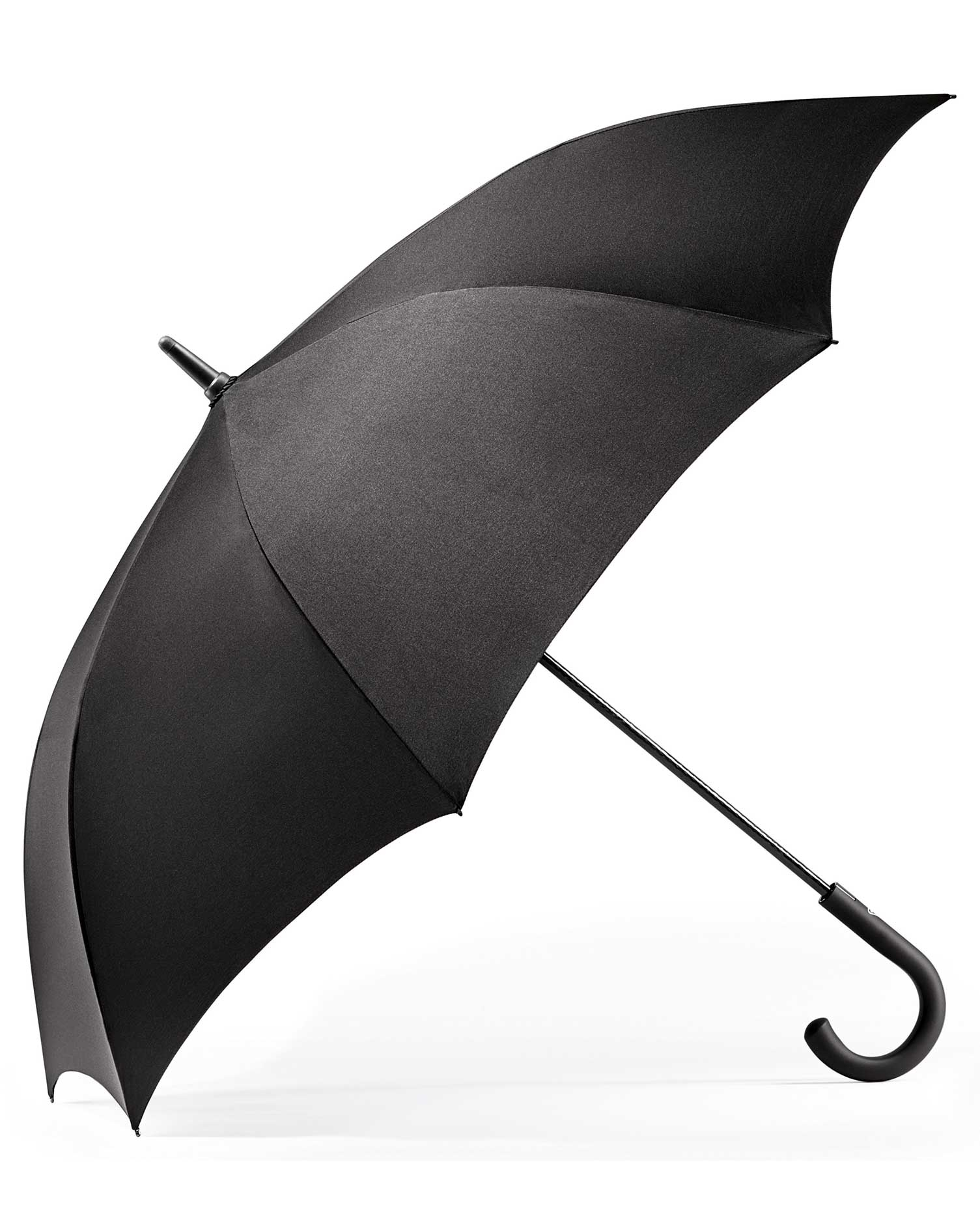 Black Automatic Classic Umbrella by Charles Tyrwhitt