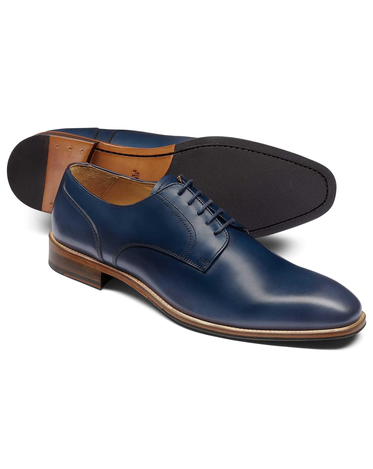 Navy Derby Shoe Size 13 R by Charles Tyrwhitt