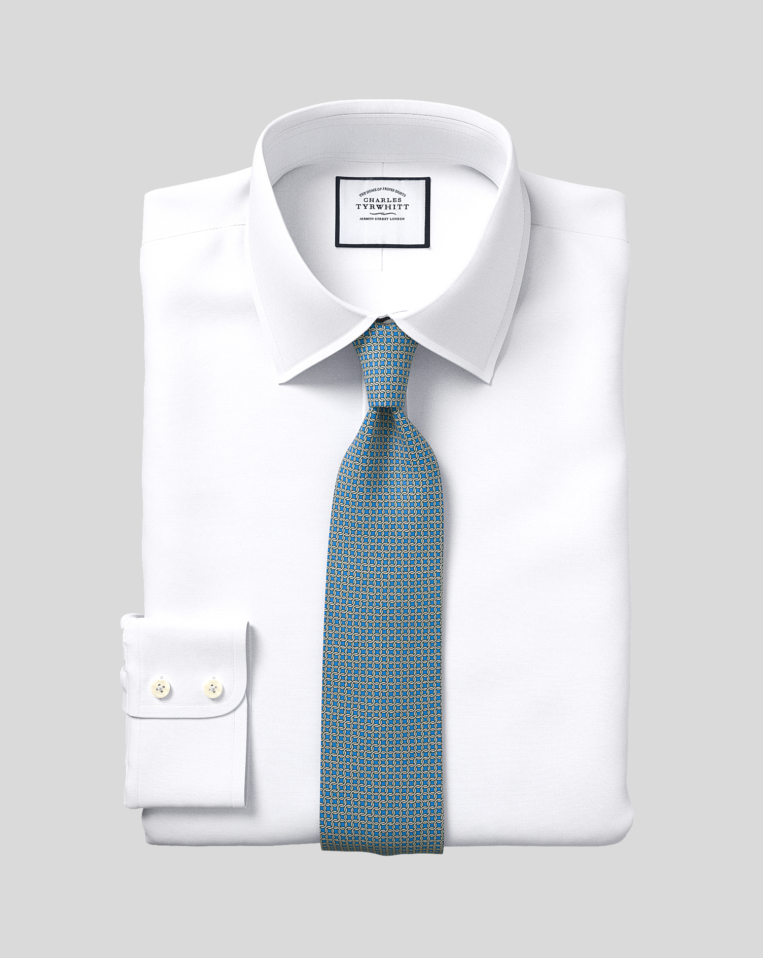 Extra slim fit egyptian cotton poplin white shirt for Slim fit cotton shirts