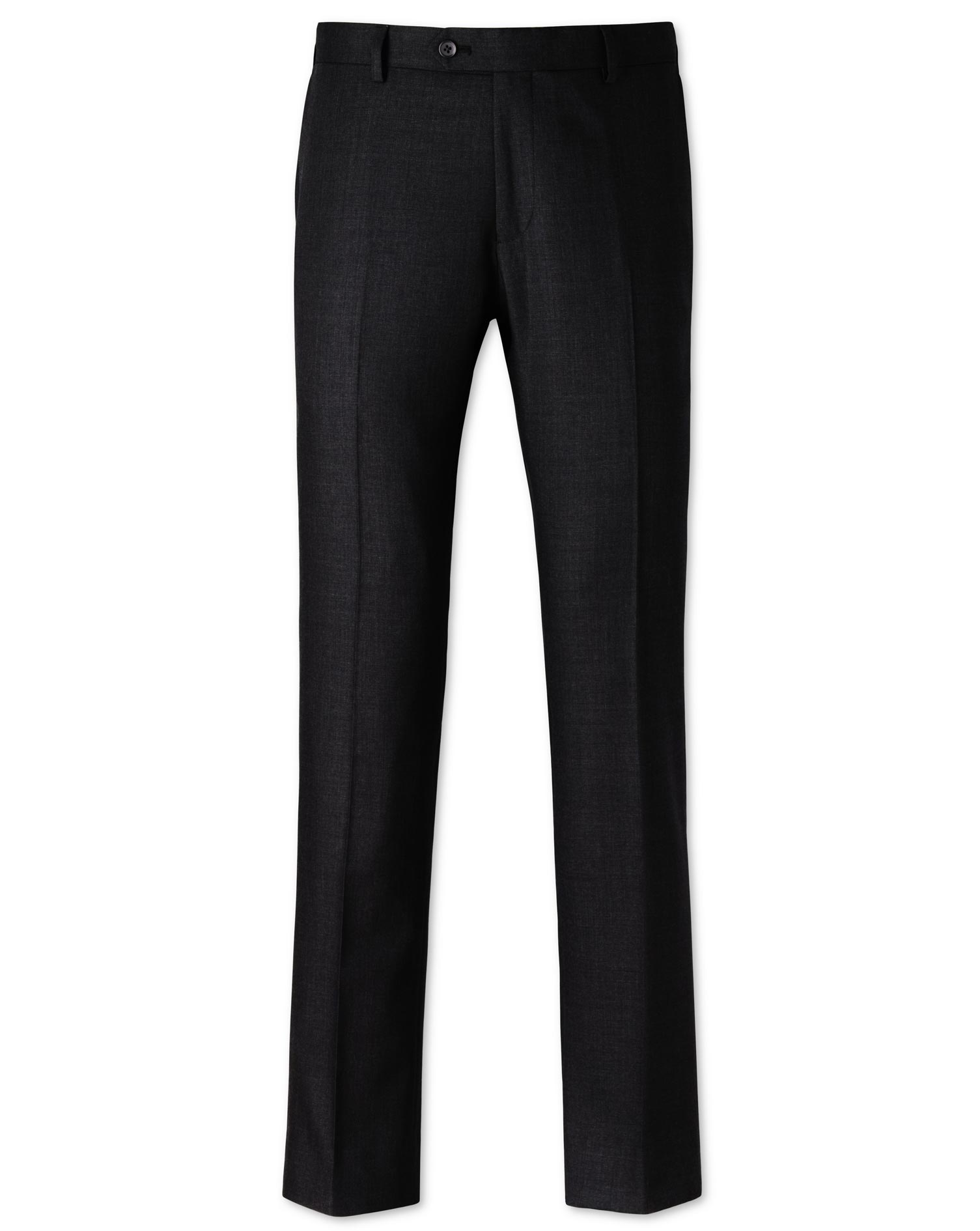 Charcoal Slim Fit Business Suit Trousers Size W40 L38 by Charles Tyrwhitt