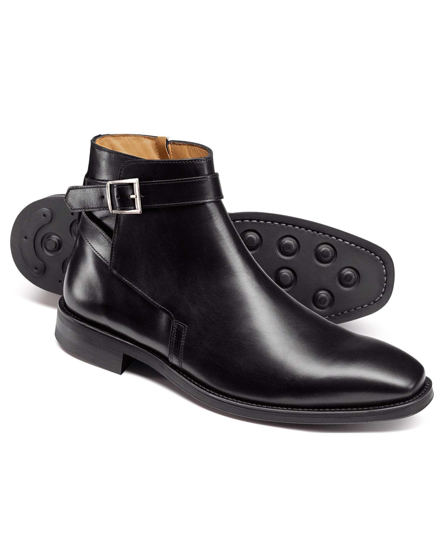 Black Jodhpur Boots Size 11 R by Charles Tyrwhitt
