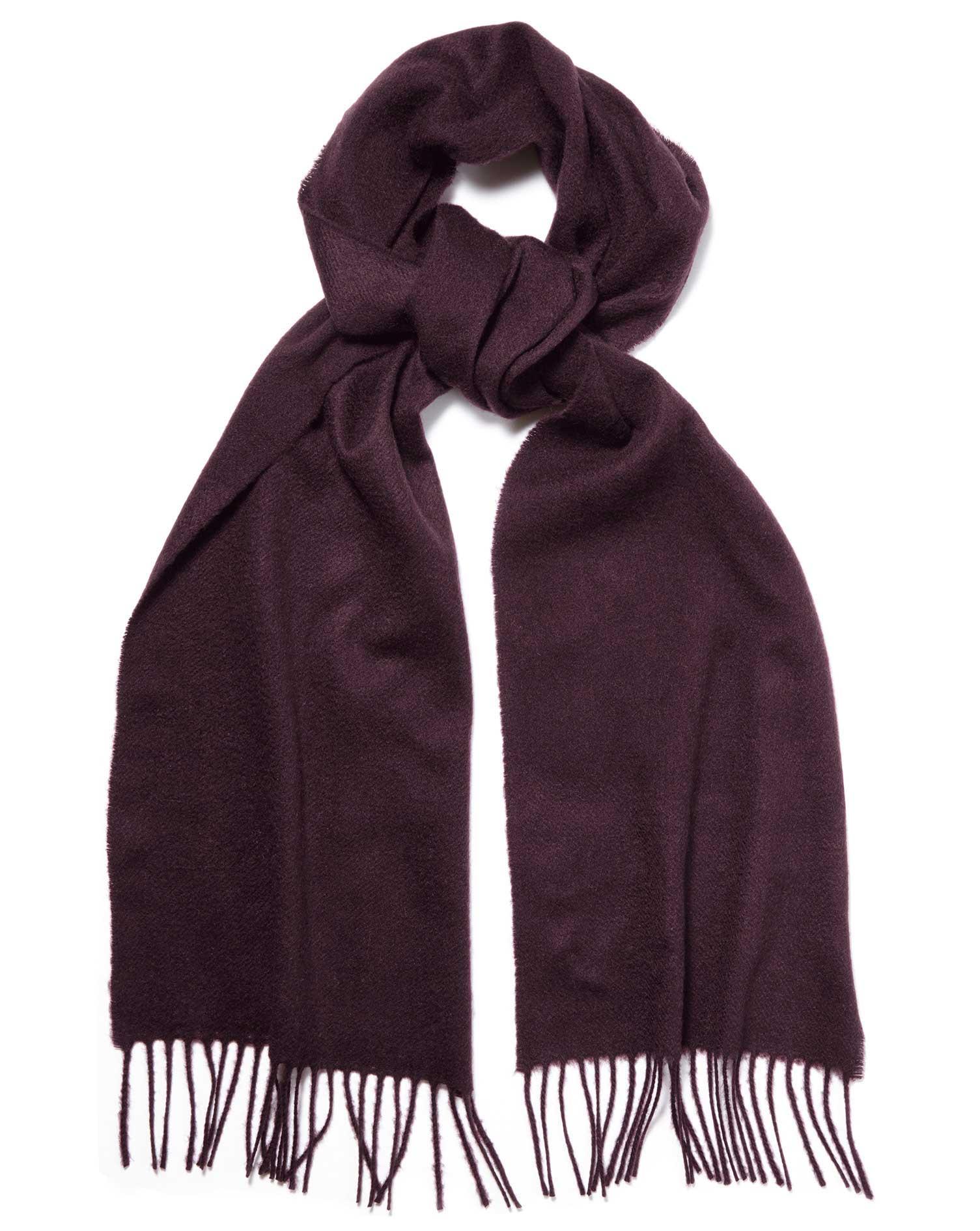 67d0df791 ... Dark purple cashmere scarf. < Back to Accessories. Sale