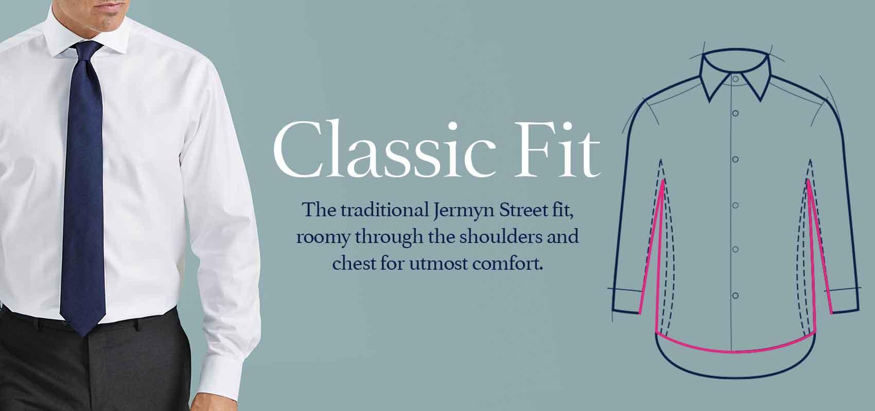 Classic fit shirts