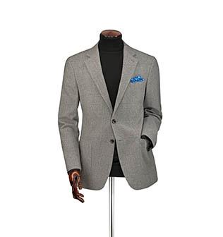 A grey jacket