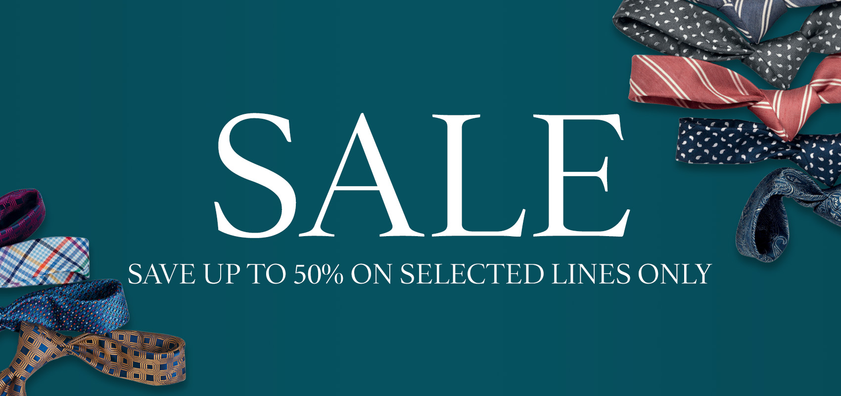 Charles Tyrwhitt Ties - save up to 50% off during our mid season sale on selected lines