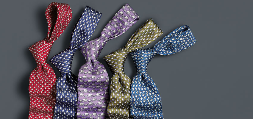 Charles Tyrwhitt Animal Print Ties