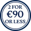 Belt Multibuy Roundel - 2 for €90 or less