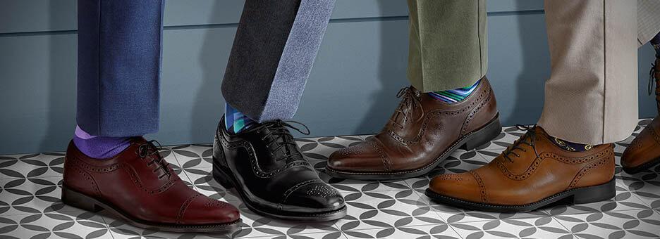 4 legs wearing shoes