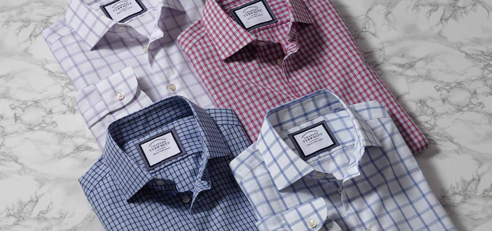 Charles Tyrwhitt business-casual shirts