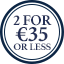Accessories Multibuy Roundel - 2 for €35 or less