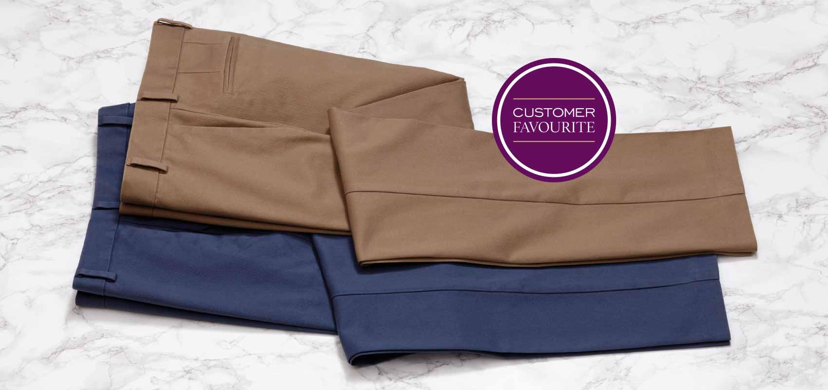 Charles Tyrwhitt  non-iron casual trousers