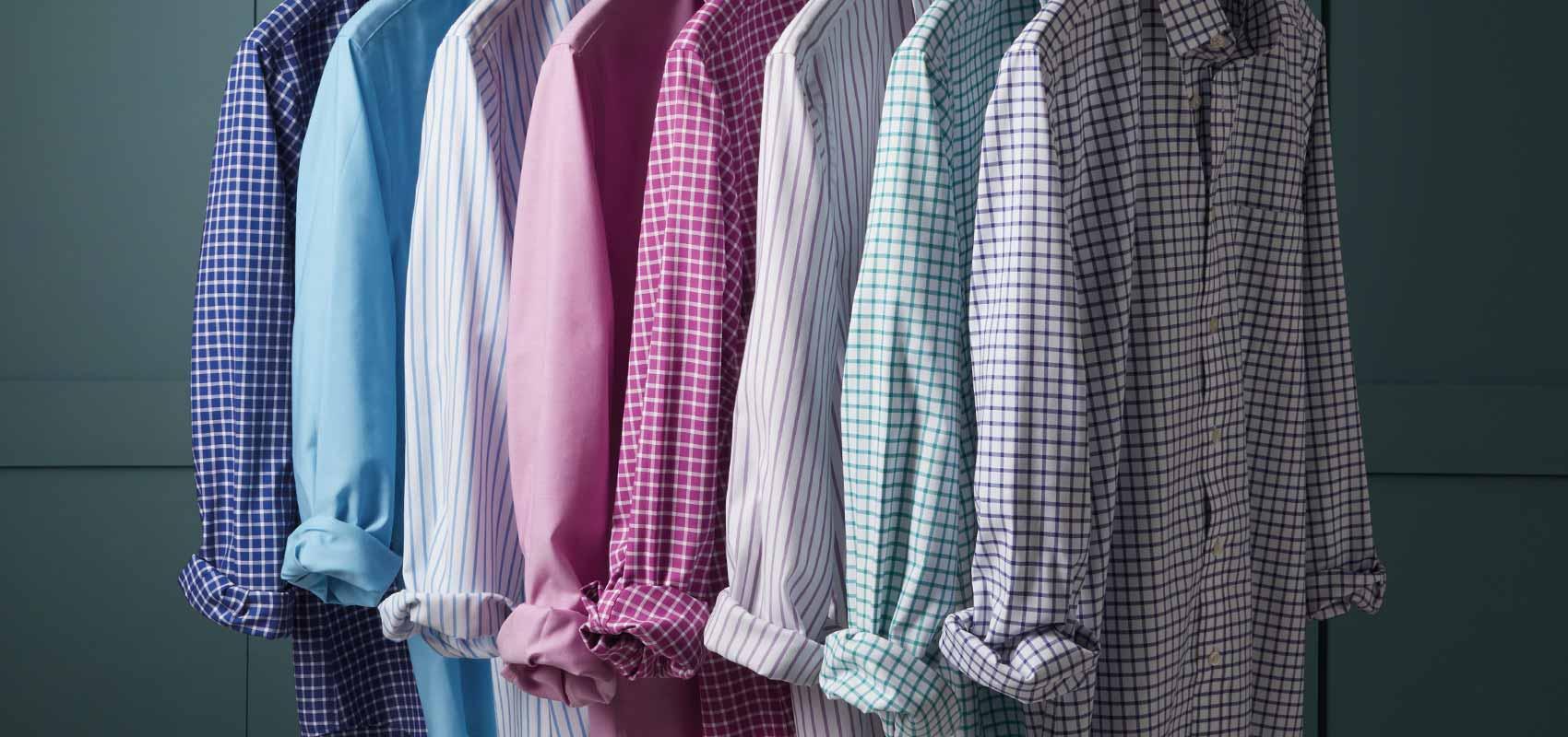 Non-iron Oxford shirts