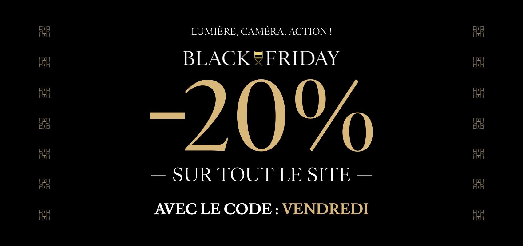 Charles Tyrwhitt Black Friday -20% avec code VENDREDI