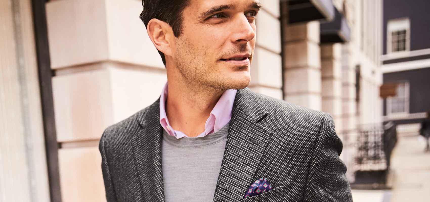 Charles Tyrwhitt men's outerwear