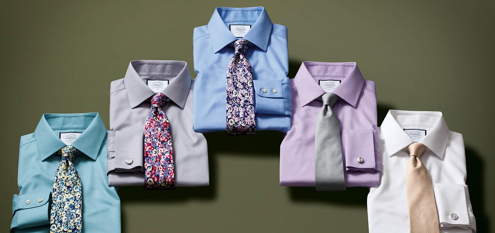 Charles Tyrwhitt Triangle Weave Shirts