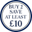Tie Roundel - Buy 2 save at least £10