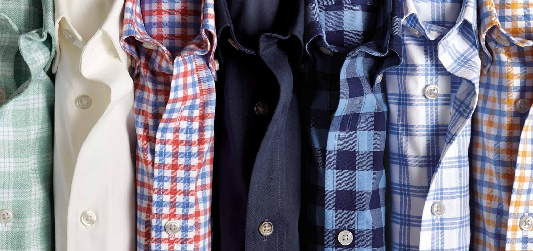 Twill weave shirts