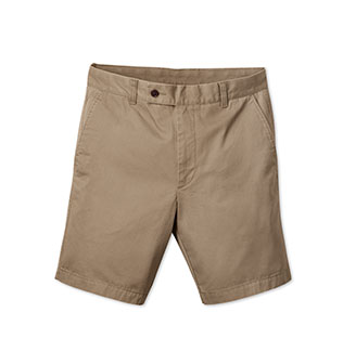 Camel chino shorts