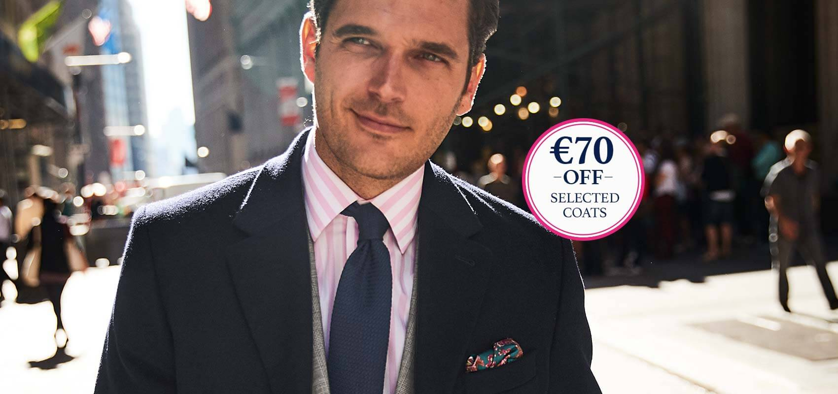 Charles Tyrwhitt Coats and Jackets now €70 off selected