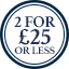Underwear Multibuy Roundel- 2 for £25 or less