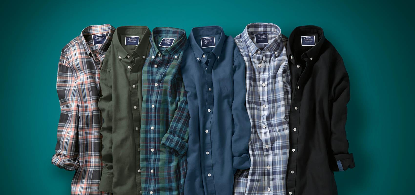 Charles Tyrwhitt Cotton Linen Shirts
