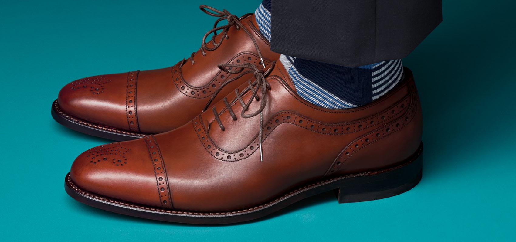 Charles Tyrwhitt Brown Shoes