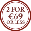Jersey Multibuy Roundel - 2 for €69 or less