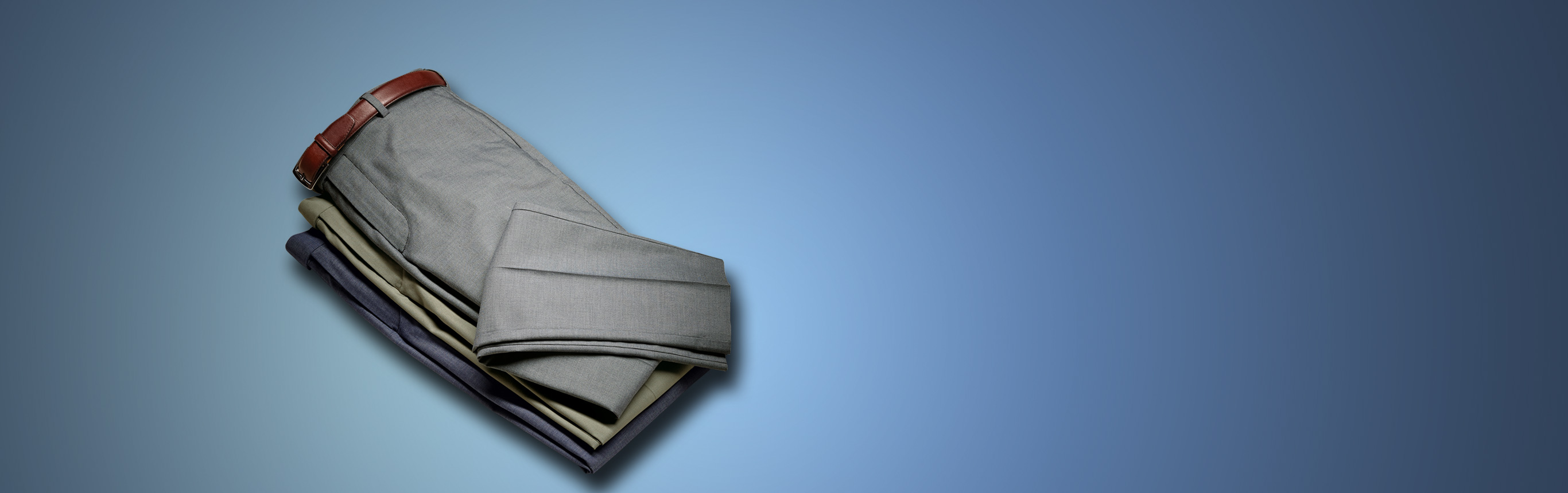 A stack of pants