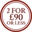 Scarves  Multibuy Roundel- 2 for £90 or less