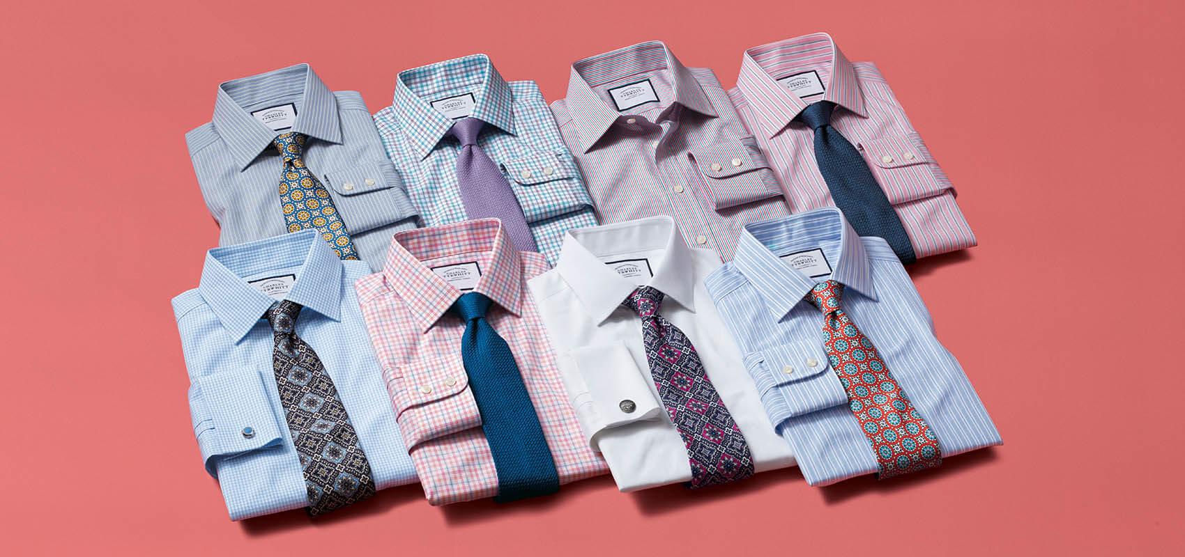 Charles Tyrwhitt Egyptian Cotton Shirts
