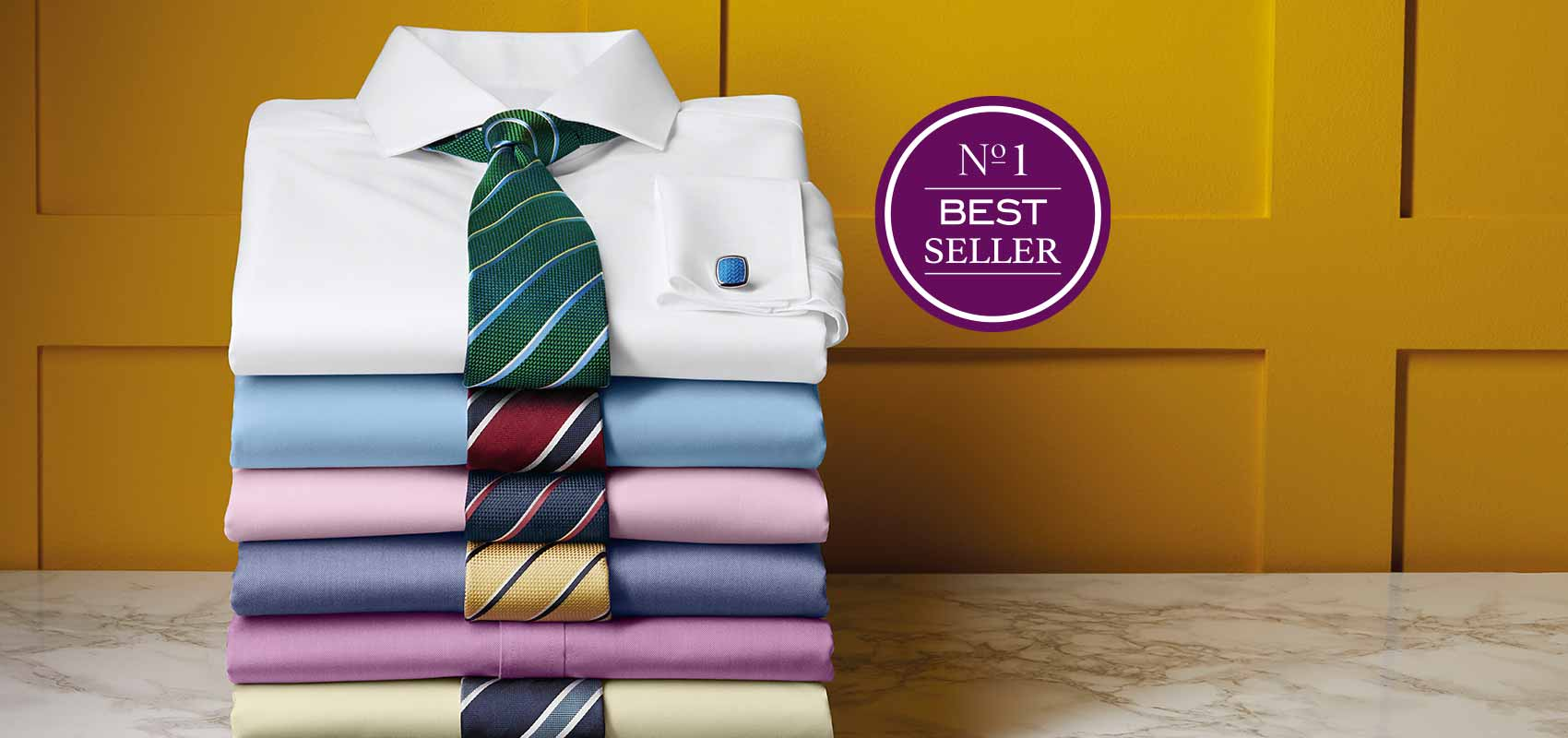 Charles Tyrwhitt non-iron twill shirts