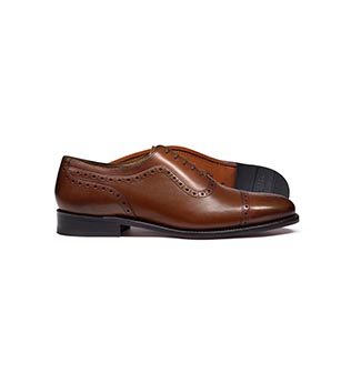 A brogue shoe