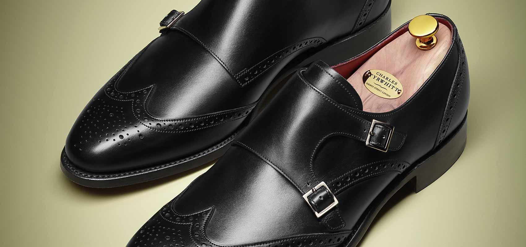 Charles Tyrwhitt black shoes