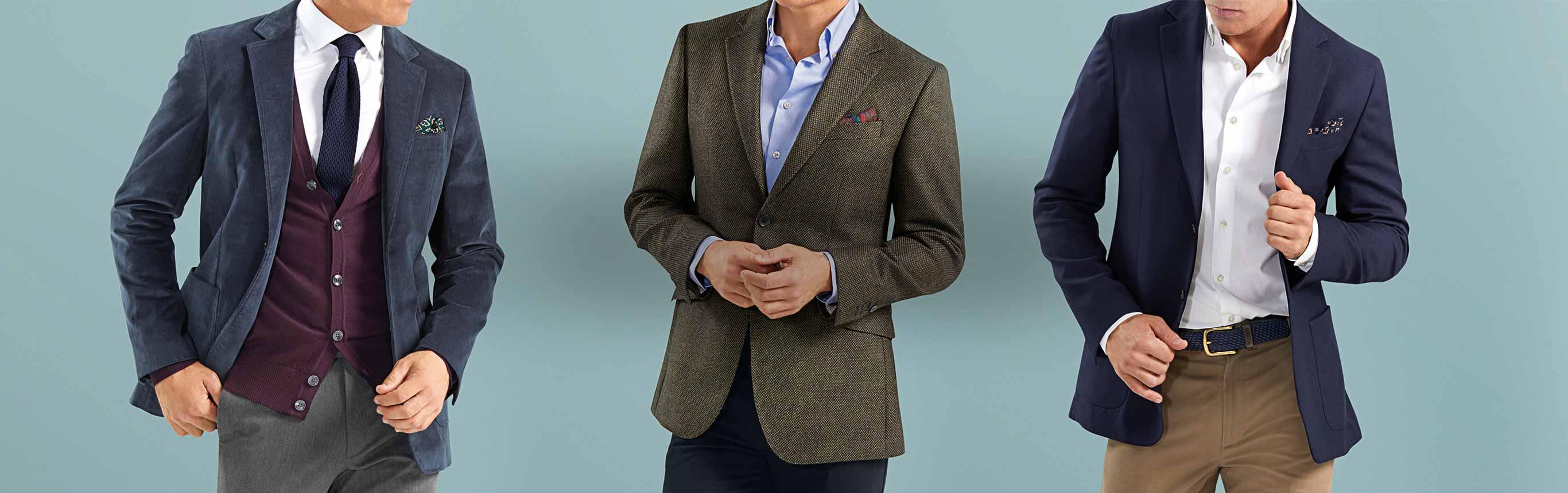 Charles james 38 jersey jacket for Mens dress shirts charles tyrwhitt