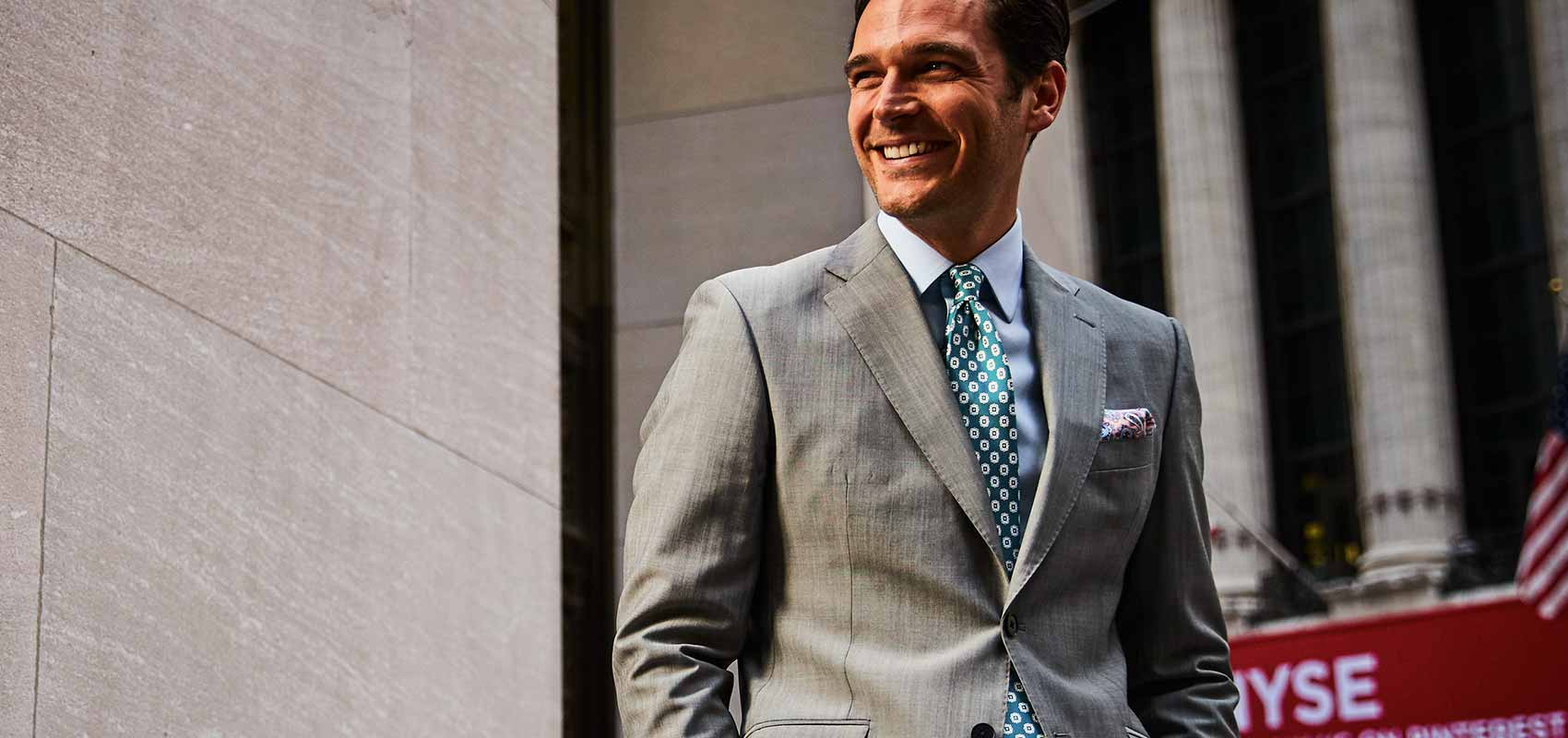 Charles Tyrwhitt grey suits