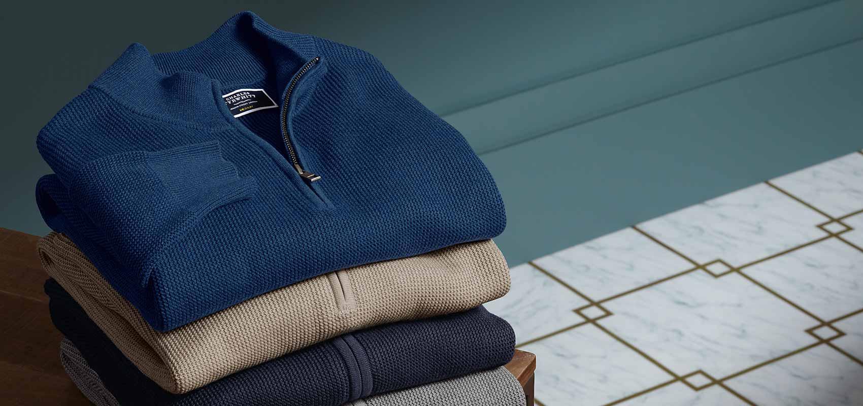 Pima cotton knitwear