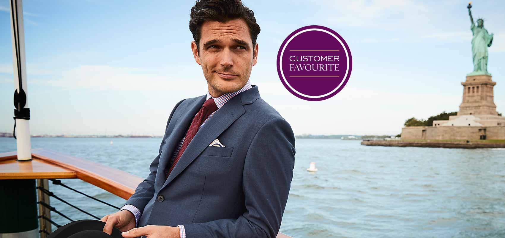 Charles Tyrwhitt travel suits