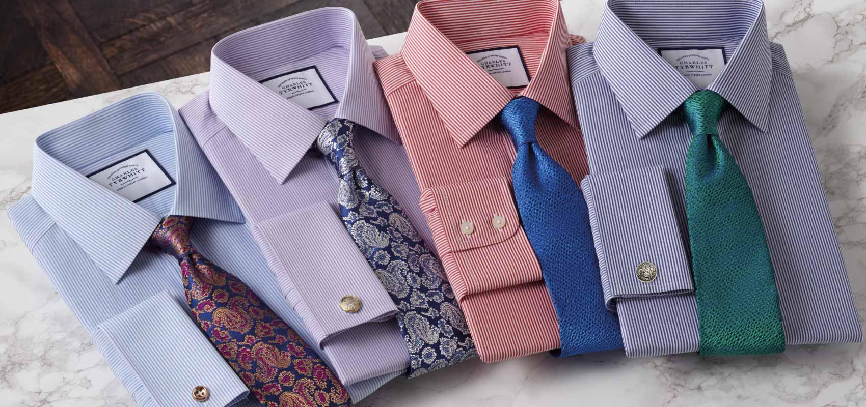 Bengal stripe shirts