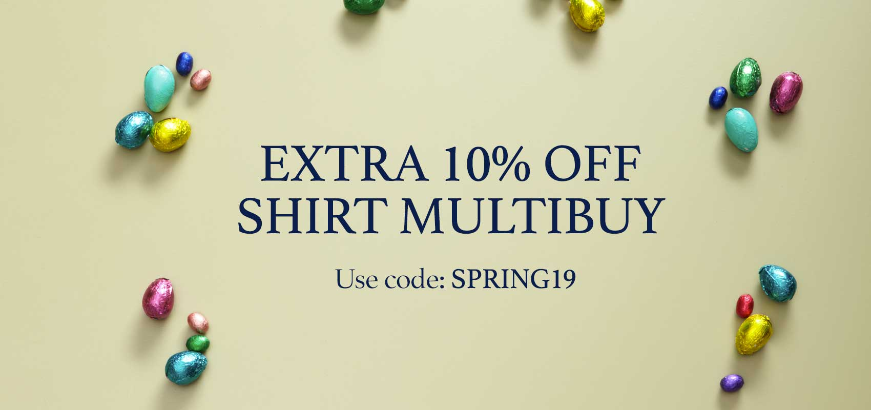 Charles Tyrwhitt extra 10% off shirt multibuy