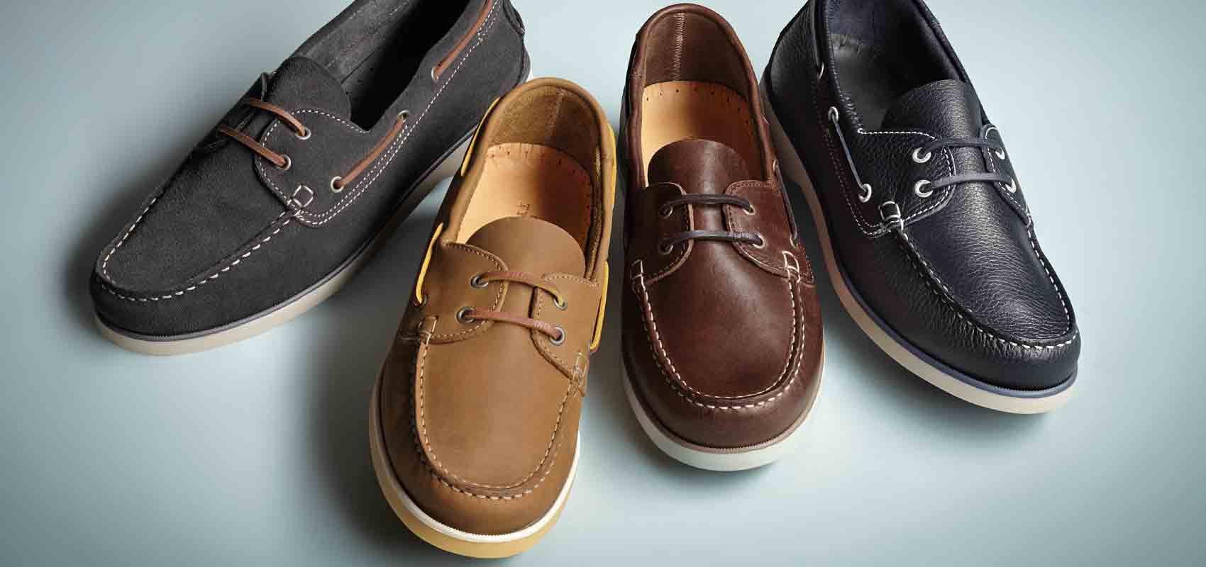 Charles Tyrwhitt boat shoes