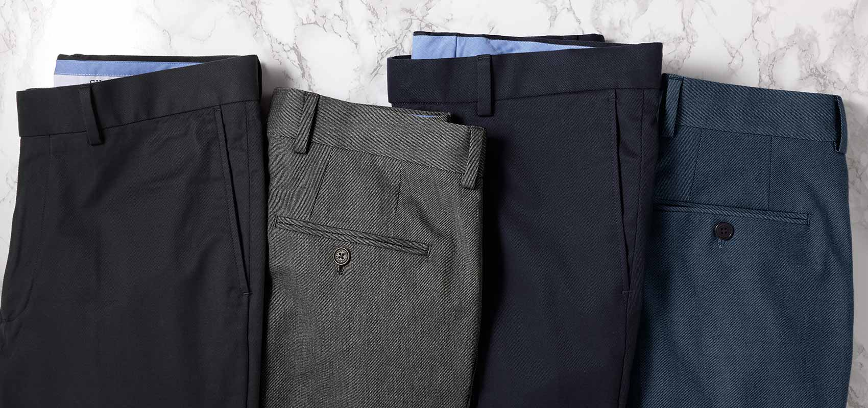 Stretch cavalry twill pants
