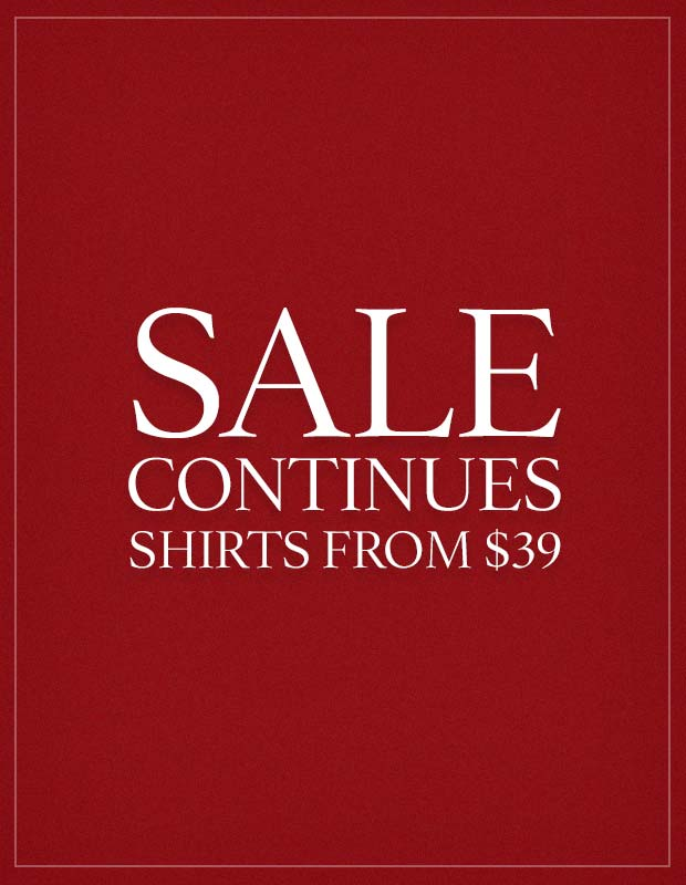 Sale continues.